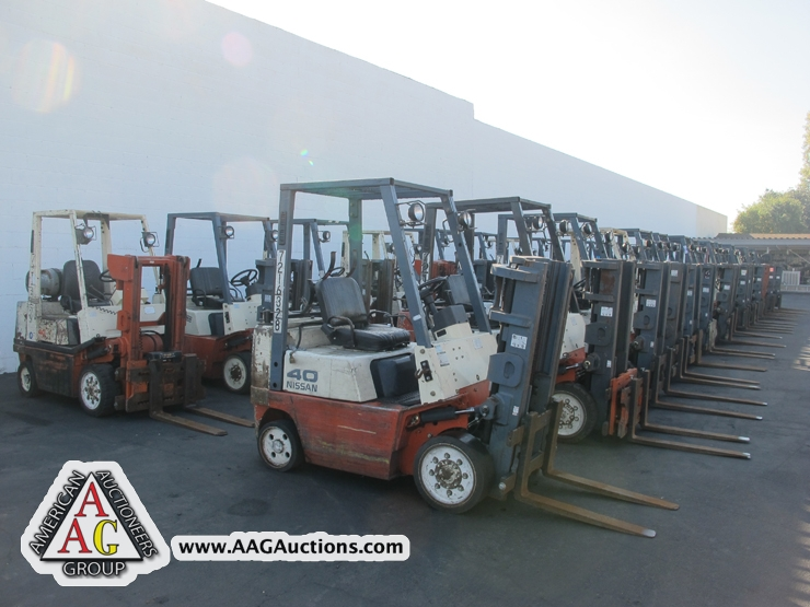 AAG Auctions - Large Forklift Auction - December 19, 2012 | American ...