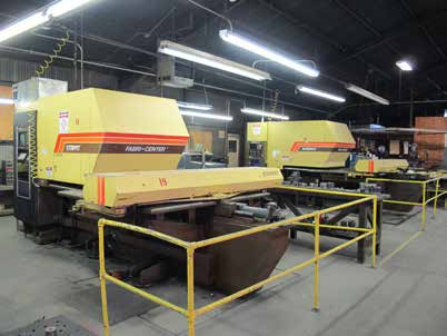 Aag Auctions Precision Sheet Metal Fab Amp Machining