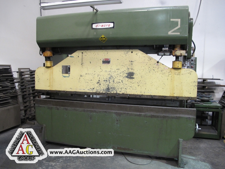 Aag Auctions Amada Sheet Metal Fabrication Facility
