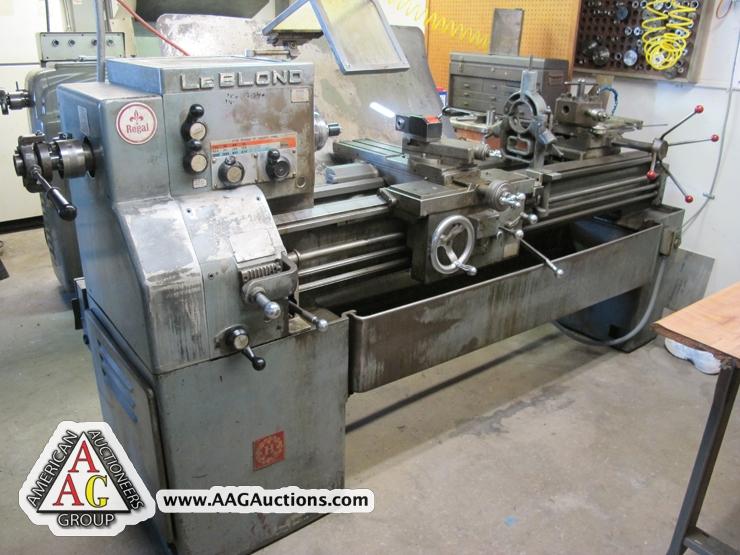 machine shop auctions california