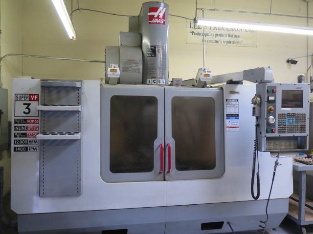 Aerospace CNC Machining Facility